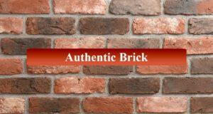 Authentic Brick