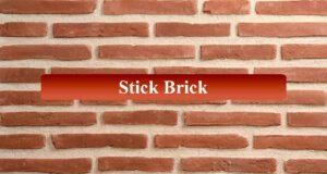 Stick Brick