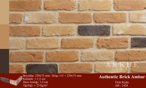 Kültür Tuğlası Authentic Brick Ambar