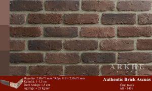 Kültür Tuğlası Authentic Brick Ascuas