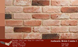 Kültür Tuğlası Authentic Brick Combo 1