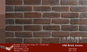 Kültür Tuğlası Old Brick Ascuas