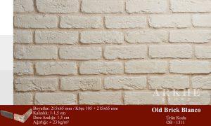 Kültür Tuğlası Old Brick Blanco