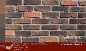 Kültür Tuğlası Old Brick Blend 1