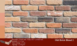 Kültür Tuğlası Old Brick Blend 2