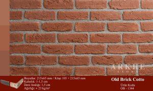 Kültür Tuğlası Old Brick Cotto