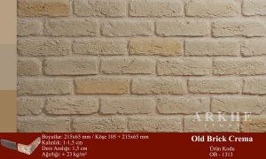 Kültür Tuğlası Old Brick Crema