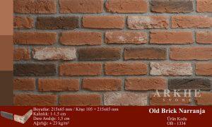 Kültür Tuğlası Old Brick Narranja