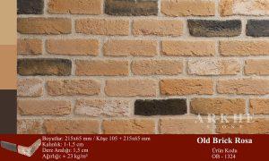 Kültür Tuğlası Old Brick Rosa