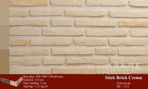 Kültür Tuğlası Stick Brick Crema