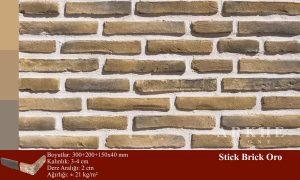 Kültür Tuğlası Stick Brick Oro