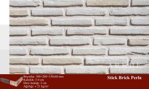 Kültür Tuğlası Stick Brick Perla